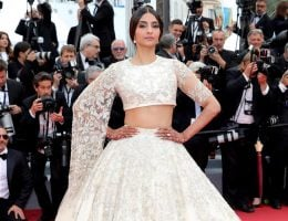 7 times Sonam Kapoor went Indo-Western at Cannes
