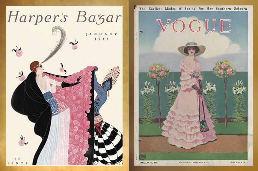 Illustrated Magazine covers