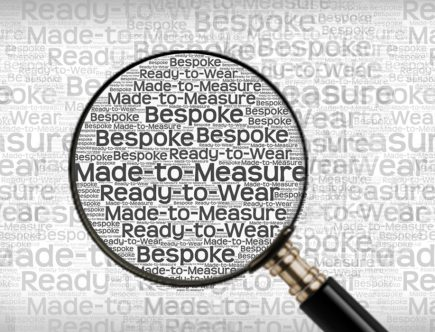 Demystifying - Bespoke, Made-to-Measure and Ready-to-wear