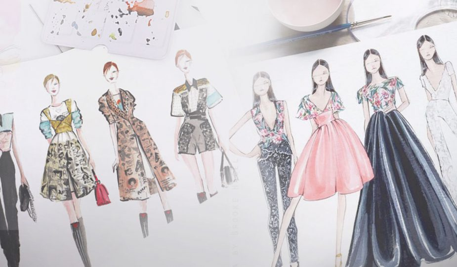 Are Fashion Illustrations Making A Comeback?