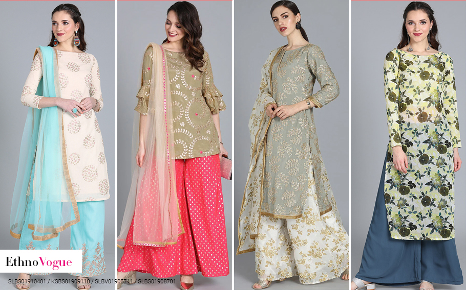 Comfy and Chic Palazzo suit sets