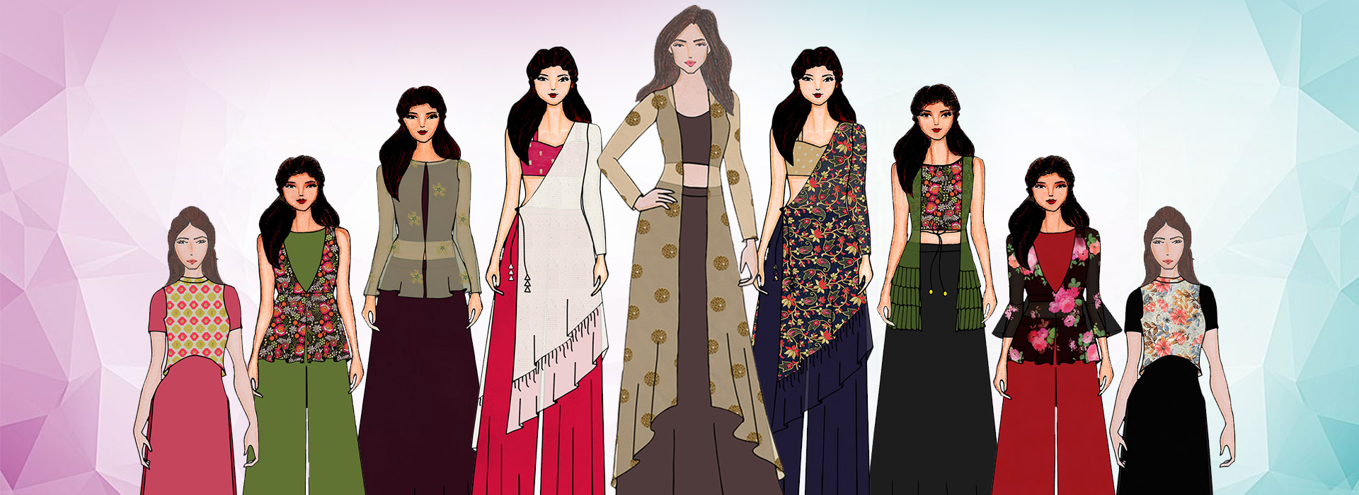 Ethnic jacket styles: the mix and match drama